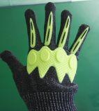 Marque liquide de silicones de 2 têtes formant la machine pour des gants moulant la formation d'étiquette