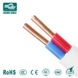 gemello di 2X1.5 2X2.5 2X4 Cable/PVC e cavo di terra elettrici piani