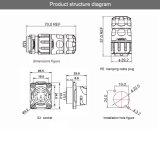 Verbinder des TUV/Ce/UL/CCC Bescheinigung-Sonnenkollektor-9pins mit schöner Entwurfs-Körper-Qualität