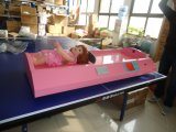 Dhm-3001b Höhen-und Gewicht-Schuppe für Baby-Ultraschallkind-Schuppe