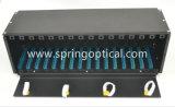 Черный цвет, установка в стойку оптоволоконный PLC расчлененный корпус для 16 Lgx модуль ЧПУ с ЗУ