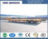 3 Alxe reboque do caminhão de um Lowboy de 80 toneladas para a venda