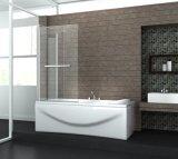 Chromed Frame Dobradiça Glass Elegant Bath Shower Screen Preço Nano
