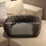 Animal doméstico de lujo del sofá de la base de sofá del perro de la base del perro de la espuma de la memoria con una estera
