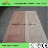 Pelle del portello modellata impiallacciatura moderna della quercia rossa HDF/MDF di struttura