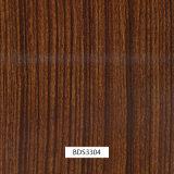 1mwidthドア項目および車の部品Bds3304のための木パターン水転送の印刷のフィルム