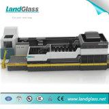 Construção personalizada Landglass Copo de vidro temperado Planta da Máquina