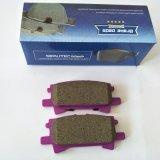 Rilievo di freno di ceramica del carbonio di qualità di Sipautec D996 per i veicoli giapponesi dell'automobile