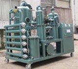 Huile de transformateur purificateur d'de régénération, machine de traitement de l'huile