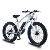 26 inch Electric Mountain Fat Tire Beach Cruiser Bike voor Volwassenen met pedaalessistentie