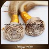 Extensões de trama do cabelo da melhor pele