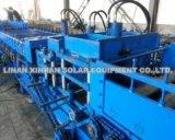 Bandeja de cabo de aço galvanizada que dá forma à máquina