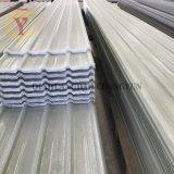 El FRP tragaluz de fibra de vidrio ondulado resistentes al fuego Panel de techo