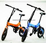 Ce/SG/MSDS certificados bicicleta eléctrica plegable con Motor sin escobillas Hub 250W
