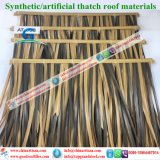 Natuurlijk kijk Synthetische Palm met stro bedekken voor Paraplu 2 van het Strand van de Bungalow van het Water van het Plattelandshuisje van de Staaf Tiki/van de Hut Tiki Synthetische Met stro bedekte