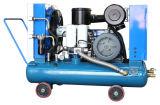 Compresor de aire diesel portable de alta presión del mecanismo impulsor de correa