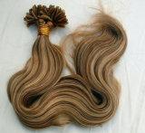 Виргинские Реми бразильского человеческого волоса Pre-Bonded удлинитель волос