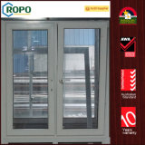 Inclinaison et spire cachées glacées Windows de charnière de PVC de l'Australie doubles