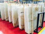 Новый горячий Белый Оникс Crystal слоев REST мраморными плитками по поощрению