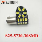12V/24V bombillas Super brillante S25 5630 5730 30 SMD LED Bombillas de freno