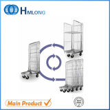 鋼鉄Galvanized Nesting Frame Storage Roll Container