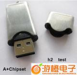 Drive USB de disque du crayon lecteur USB en métal d'OEM (OM-M006)