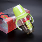 Frasco de alimentação do bebê de PPSU com a boca larga BPA do punho livre