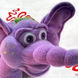 Игрушка плюша слона для младенца