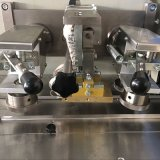 Macchina imballatrice automatica di flusso orizzontale per cioccolato/tessuto bagnato