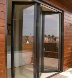 Дверь складчатости Bi термально пролома алюминиевая для моря House&Villa