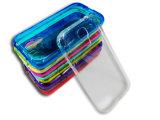 Hoge Doordringbaarheid van Uiterst dunne Mobiele Telefoon Shell van Bescherming de Van uitstekende kwaliteit Shell van Materialen TPU voor de Melkweg S4 I9500 van Samsung