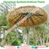 Natuurlijk kijk Synthetische Palm met stro bedekken voor Paraplu 1 van het Strand van de Bungalow van het Water van het Plattelandshuisje van de Staaf Tiki/van de Hut Tiki Synthetische Met stro bedekte