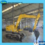 Aufbau-Maschinen-Fabrik 8.5 Tonnen hydraulische Minirad-Exkavator-