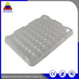 Kundenspezifisches Form-Speicher-Tellersegment-Plastikblase, die für Befestigungsteile verpackt