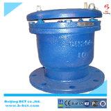 Ferro fundido da válvula de ar automático de esfera dupla com Bct-Dav Flangeado-02