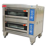 Commercial 2 Deck 4 trays Catering Equipment Food Bread Bakkerij Equipment Commercial Convection Electric Pizza oven