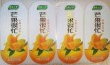 Contrassegno autoadesivo a forma di foglia per la bottiglia del succo di frutta 1L