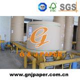 1800 papier blanc de la largeur 140GSM Kraftliner de roulis en roulis