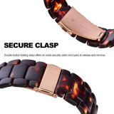 Beautiful Colors Resin Bracelet Watch Strap for Samsung S3 GEAR