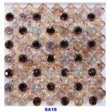 壁のクリスタルグラスのモザイク・タイルのための一等級のガラスモザイク