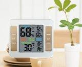 El termómetro digital con la temperatura y Humitity para el hogar