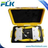 Коробка управления кабеля старта стекловолокна OTDR с подгонянным разъемом