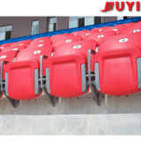 価格の屋外の卸し売りフットボールの小さい先端のプラスチック椅子の足の高い屋外のラウンジチェアのための機械白を作るBlm-4152