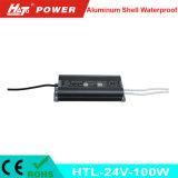 fonte de alimentação Htl do interruptor do transformador AC/DC do diodo emissor de luz de 24V 4A 100W