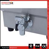friteuse profonde électrique de l'acier inoxydable 13L contre- première avec le drain (tailles multiples) (à réservoir unique)