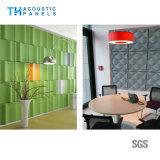 Ecoの友好的な建築材料の装飾的な3D音響の壁パネル
