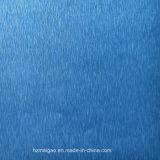Drawbench azul hoja de aluminio con recubrimiento de color