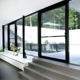 Het dubbel isoleerde de Aangemaakte Binnenlandse Schuifdeur van Soundprood van het Glas