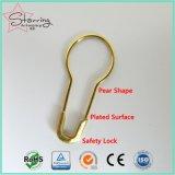 Хозяйственной покрынный новизной Pin груши безопасности металла цвета 22mm