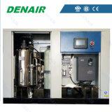 Compressore d'aria senza olio della vite di lubrificazione dell'acqua con il motore 37kw